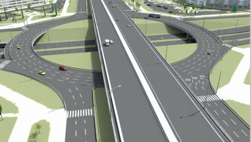 На улице Чичерина появится новая транспортная развязка
