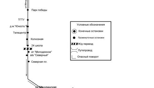 Автобусный маршрут №29, Тамбов