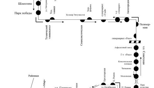 Автобусный маршрут №52 Чичерина-Сенько