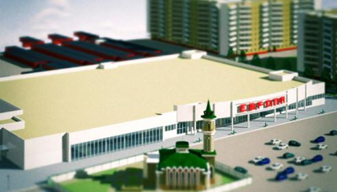 Проект торгового центра на Рылеева, Тамбов