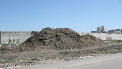 Горы мусора на Северо-Западной, Тамбов