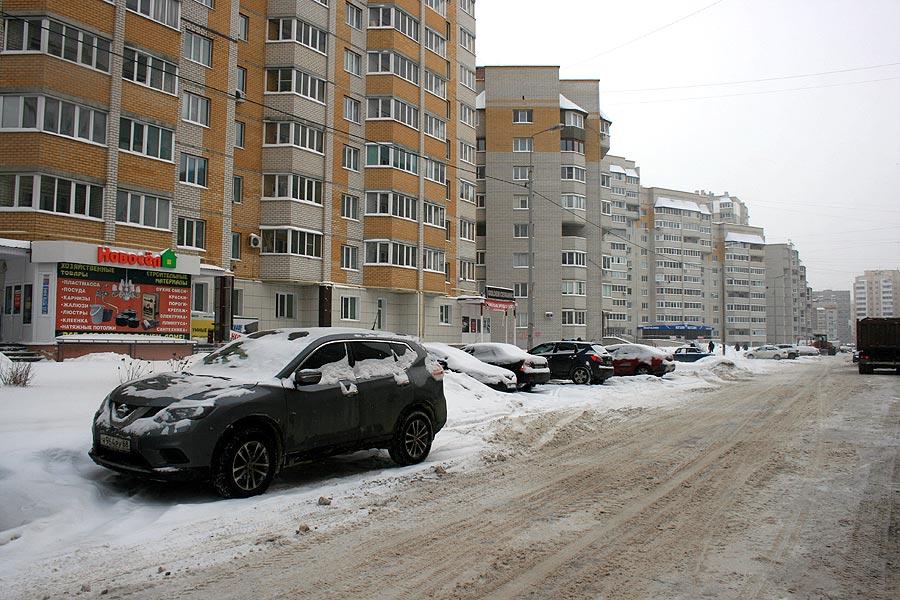 Припаркованные авто