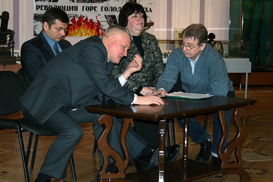 Юрий Рогачев и Владимир Дьячков