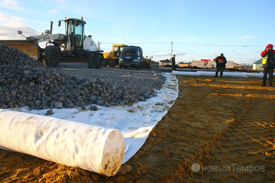 Использование дорнита при строительстве дорог