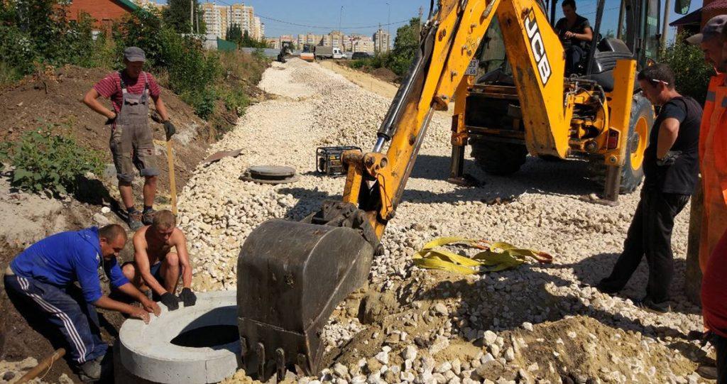 Строительство дорог в Радужном
