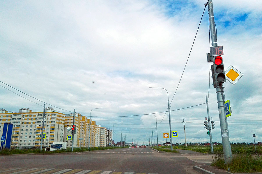 Улица Рылеева