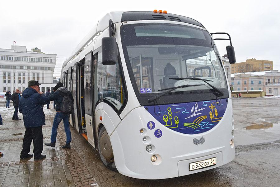 Электробус в Тамбове