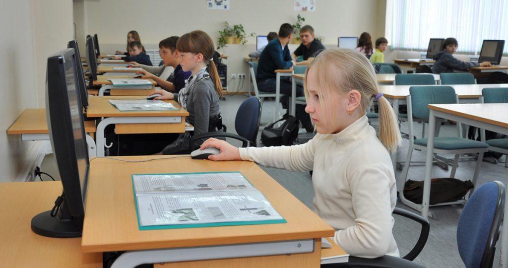Уроки в школе. Фото vologda-portal.ru