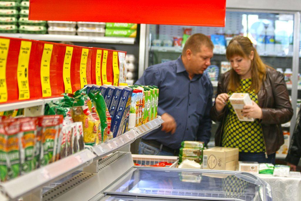 """В магазине """"Пятерочка"""""""