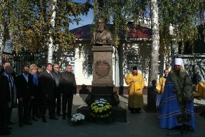 На открытии музея арх. Луки. Фото Михаила Карасева