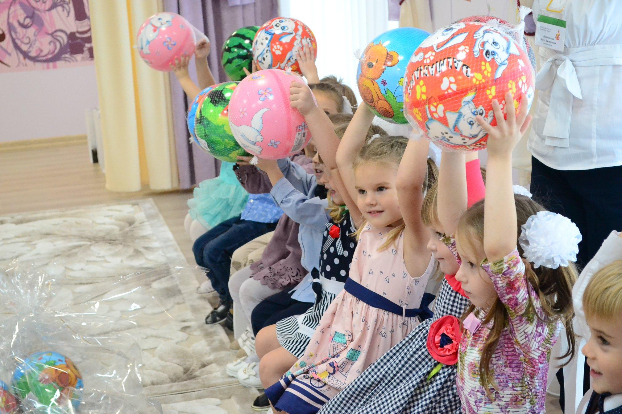 Малыши в детском саду. Фото Александры Папушой