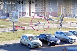 ДТП на Мичуринской, 142 - Новый Тамбов