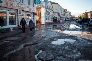Улица Коммунальная в Тамбове. Фото Ильи Варламова