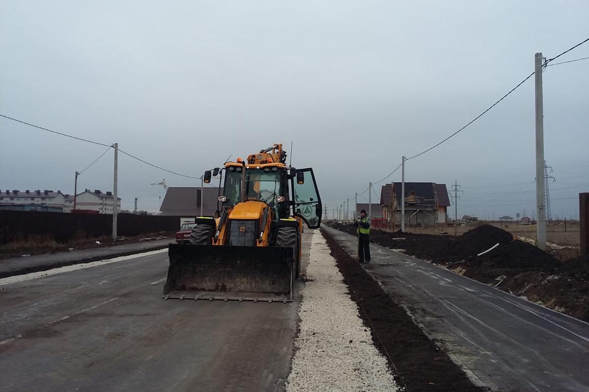 Строительство дорог в Северном