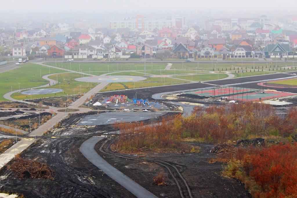 Олимпийский парк. Фото Елены Васильевой