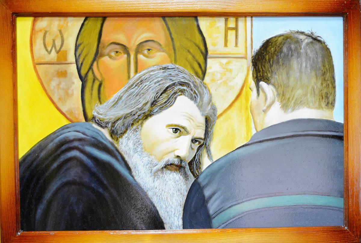 Одна из картин, нарисованная осужденными