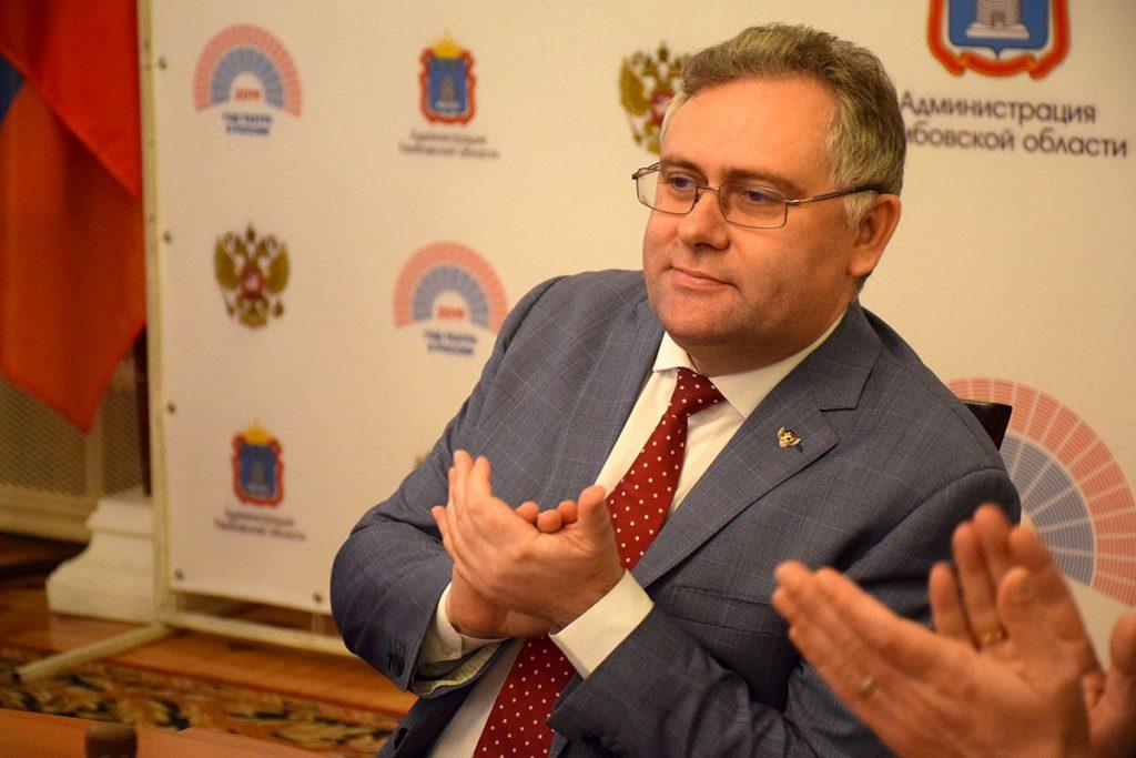 Сергей Чеботарев, глава Тамбова. Фото - информационное управление администрации города Тамбова