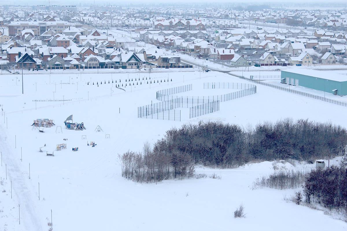 Олимпийский парк, декабрь 2018