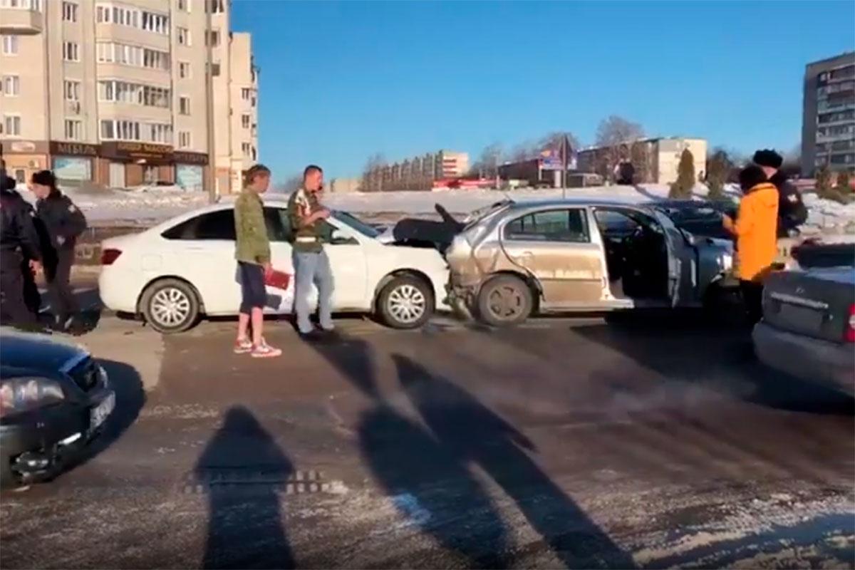 ДТП на Мичуринской