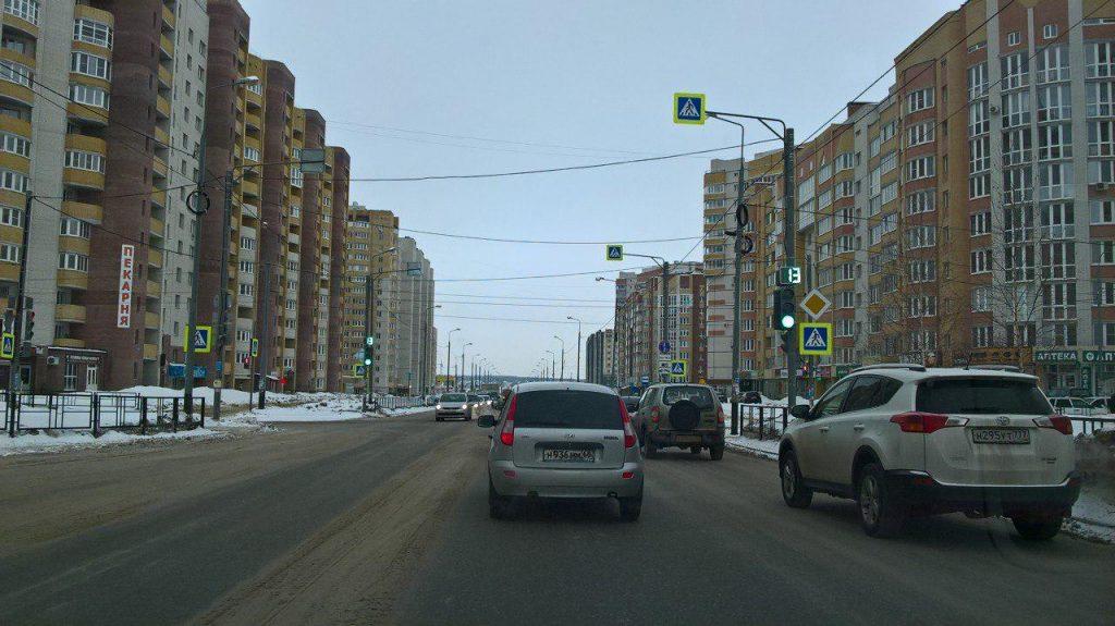 Светофор Агапкина-Ореховая