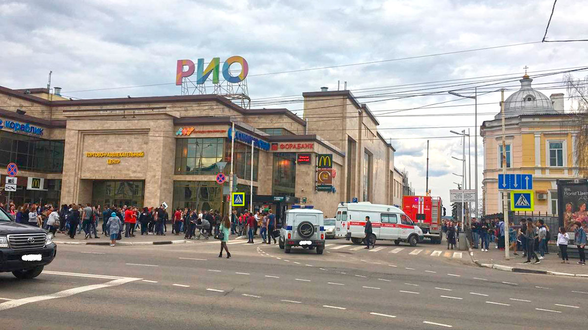 ТРЦ «РИО» в Тамбове. Фото «448 вёрст»