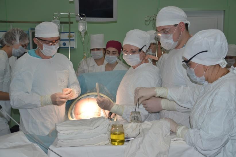 Рождение тройни в перинатальном центре Тамбова
