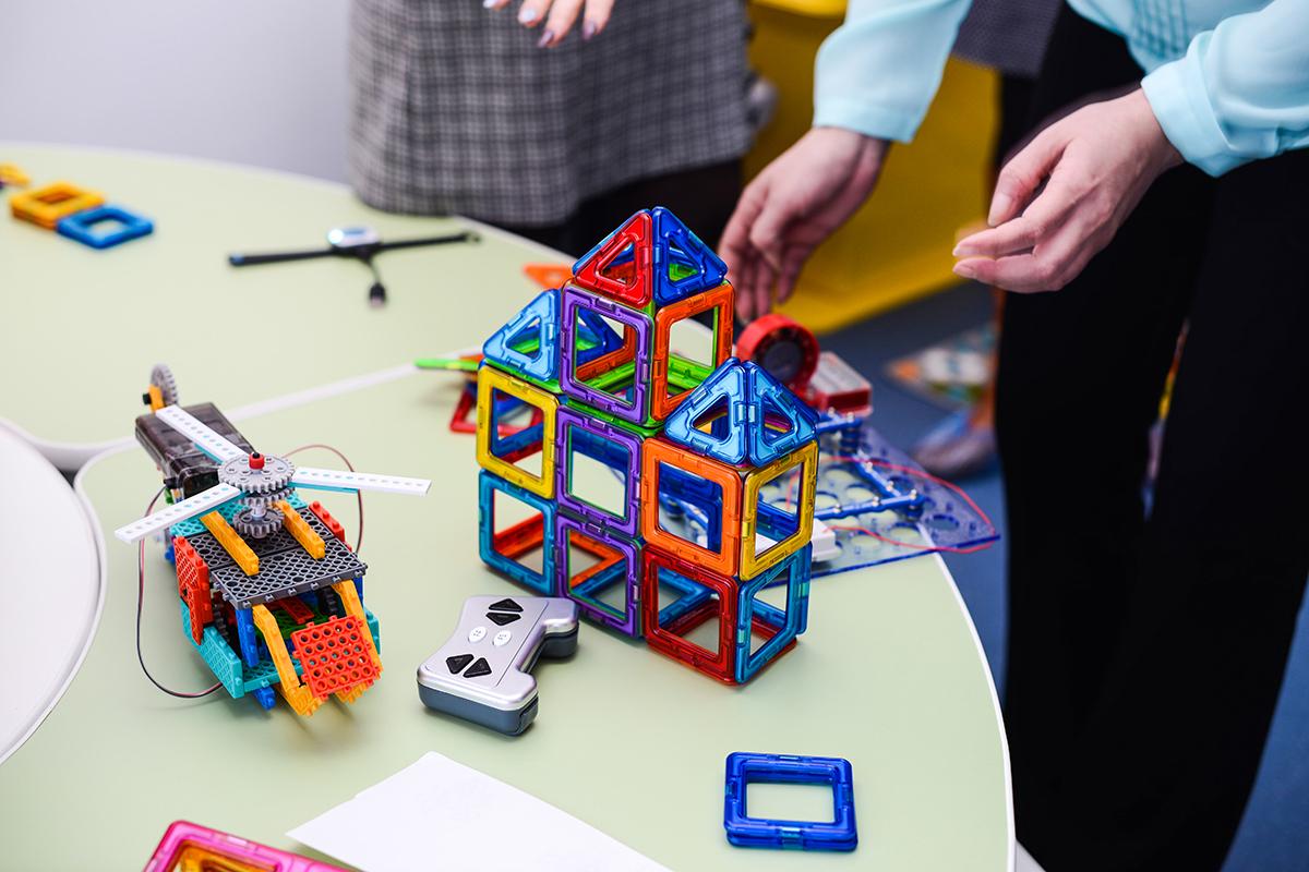 Развивающие игры в детсаду, фото Павел Четвертков