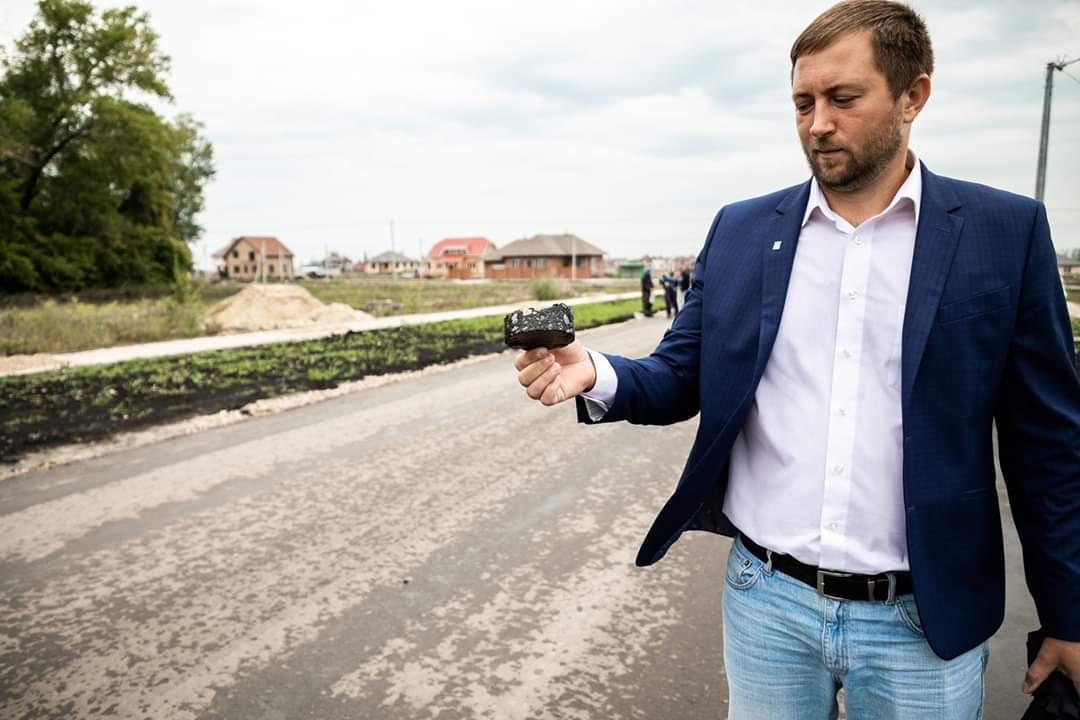 Представитель инициативной группы мкр Майский Дмитрий Бессонов
