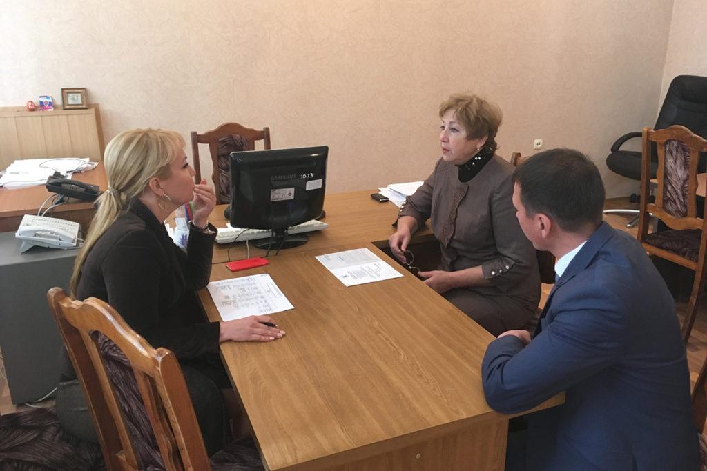 Макаревич проводит собеседование