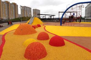 Детская площадка в Олимпийском парке - Новый Тамбов