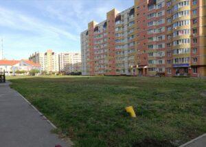 """Территория будущего сквера у детсада """"Подсолнух"""", фото Марины Соломатиной"""