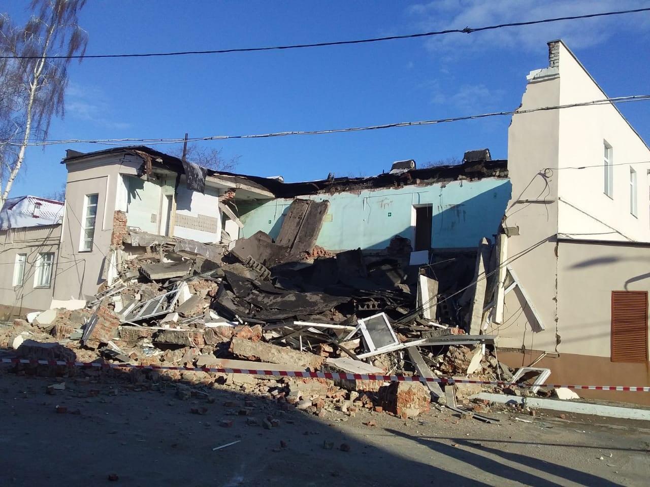 Обрушение здания, фото produman_TMB
