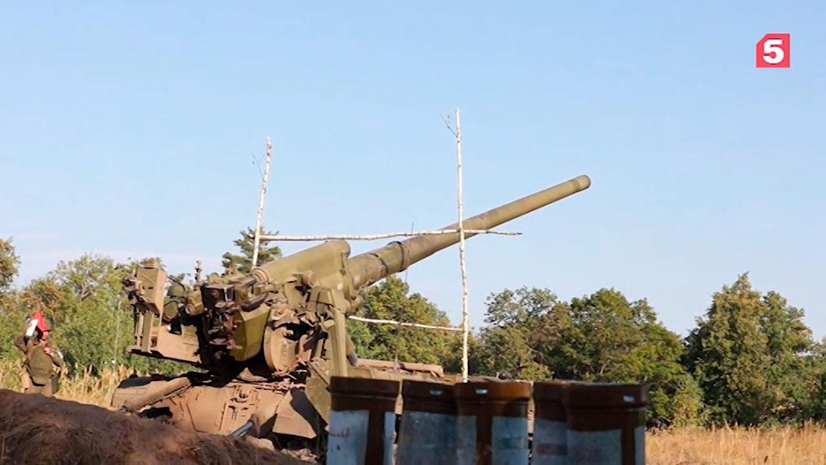 Новейшие самоходные пушки «Малка» поразили цель на дальности свыше 10 км