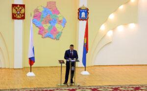 Инаугурация Александра Никитина, фото ОнлайнТамбов.ру