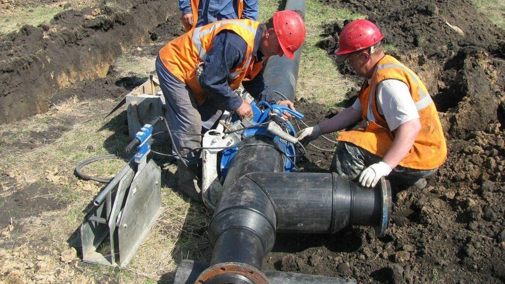 Строительство сетей водоснабжения
