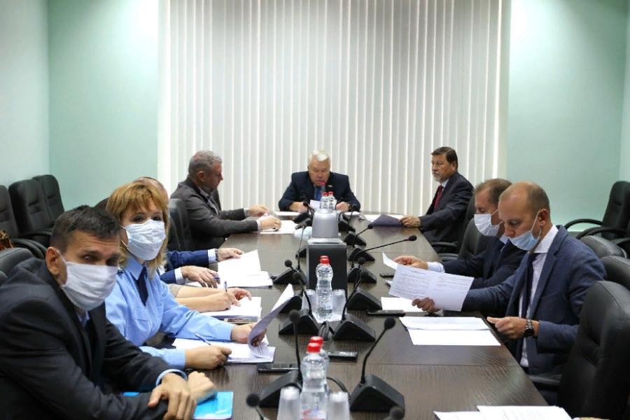 Заседание комитета Тамбовской облдумы