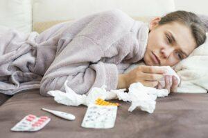 Заболевшие гриппом