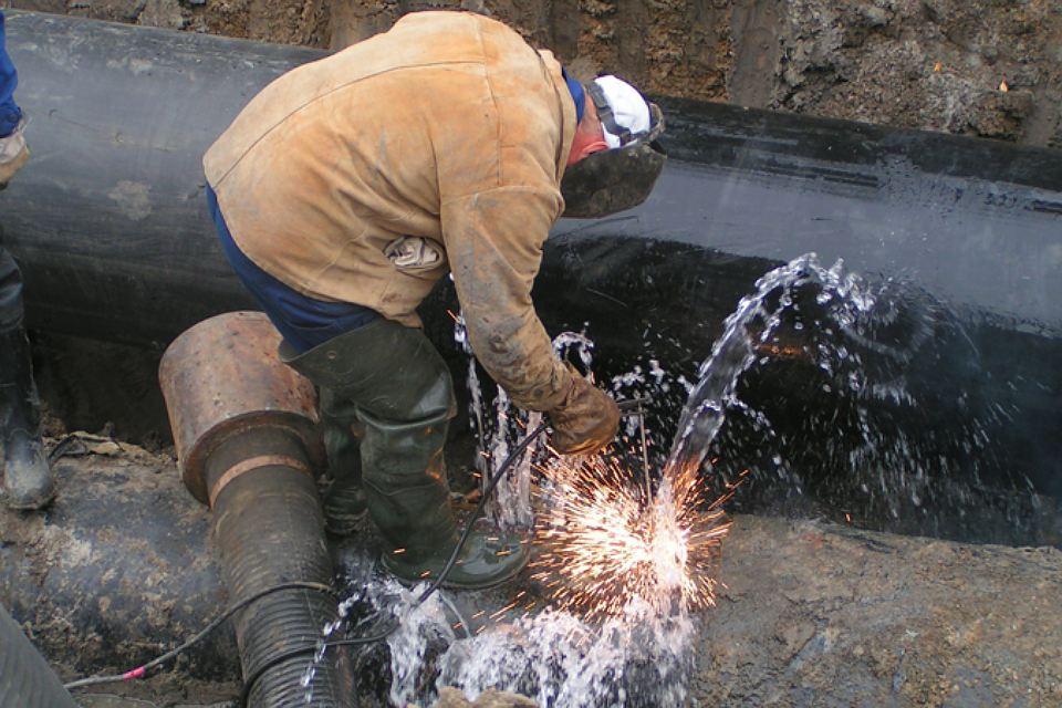 Порыв сетей водоснабжения