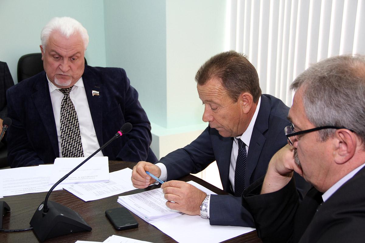 Заседание комитета по бюджету в Тамбовской областной думе