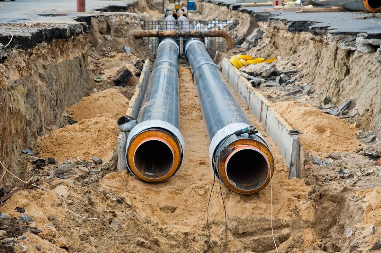 Строительство водовода