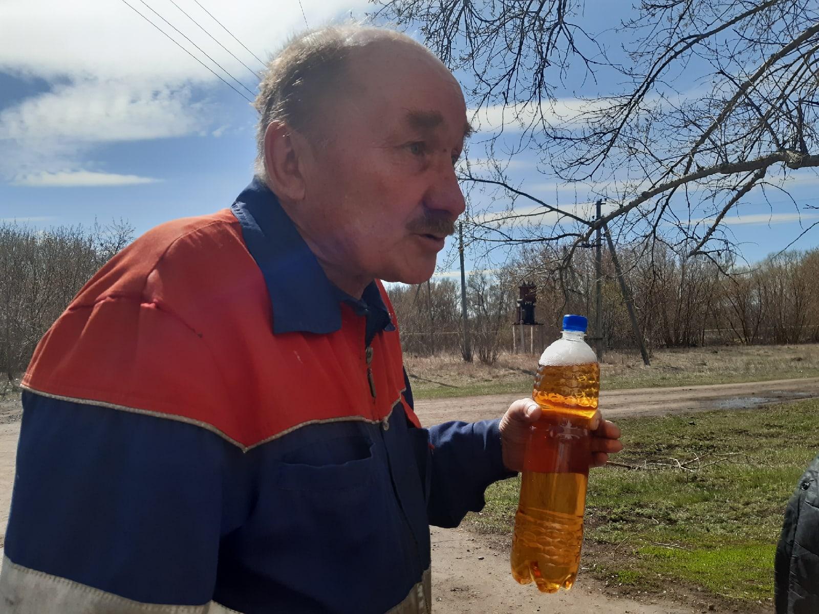 Житель села Николай