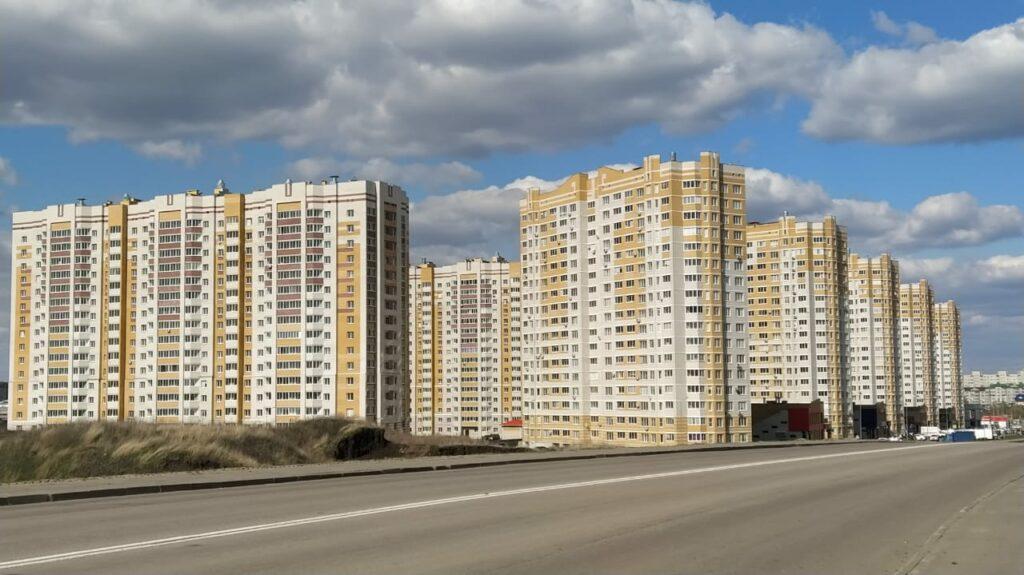 Жилой комплекс на улице Магистральной