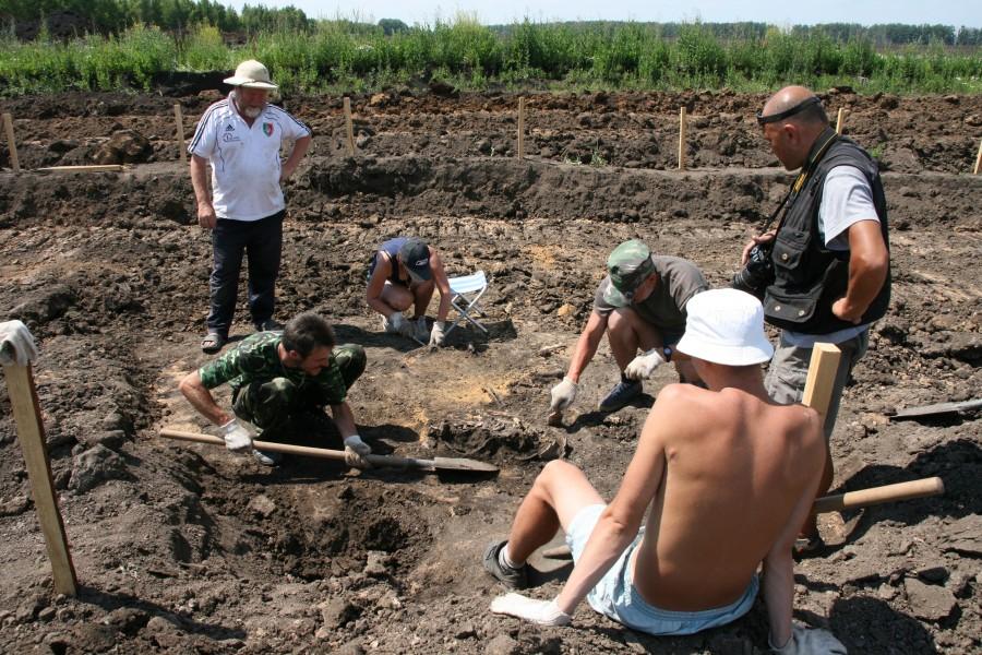 Археология, фото Михаила Карасева
