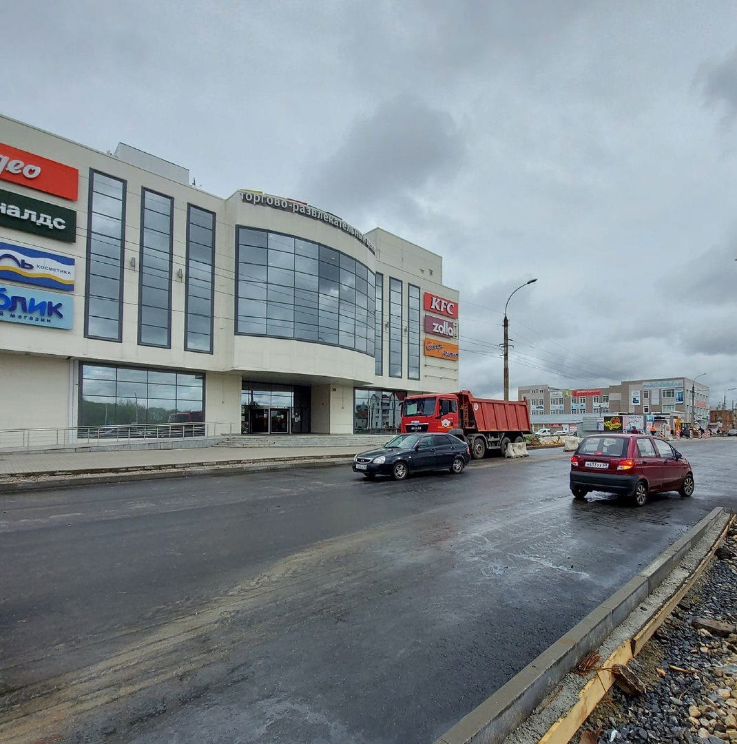 Мост по улице Базарной в Тамбове
