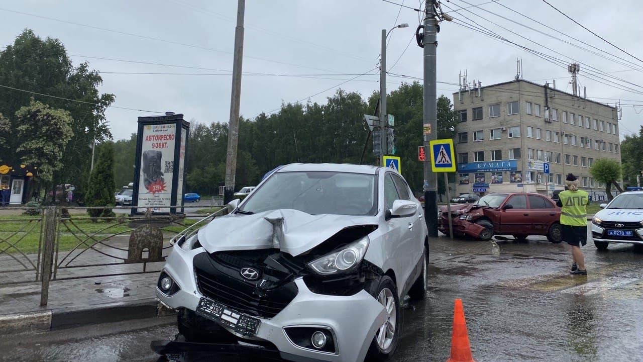 ДТП на бульваре Энтузиастов - Новый Тамбов