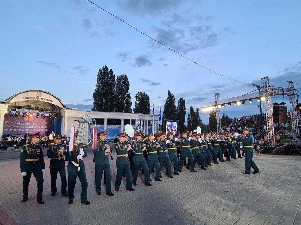 Фестиваль духовых оркестров в Тамбове, фото пресс-службы администрации Тамбовской области