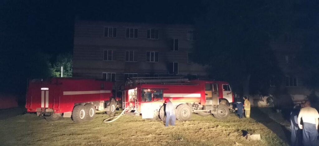 Пожар в Сосновском доме-интернате в Тамбовской области