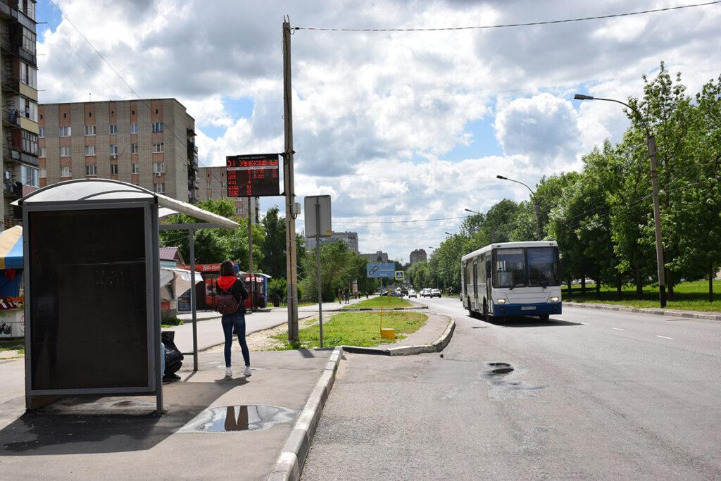 Общественный транспорт в Тамбове, фото администрации города