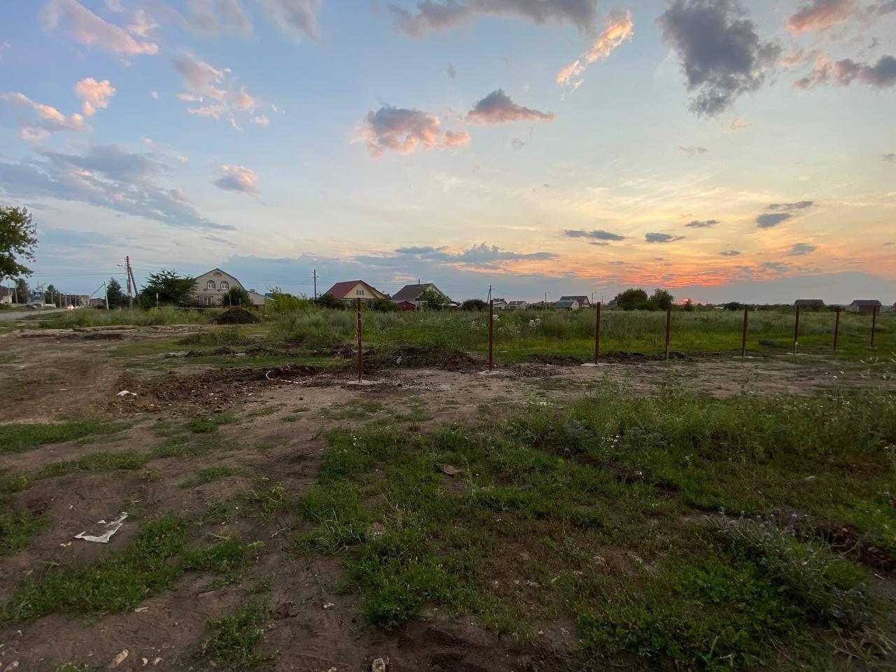 Начало строительства нового храма в Майском на севере Тамбова - Новый Тамбов
