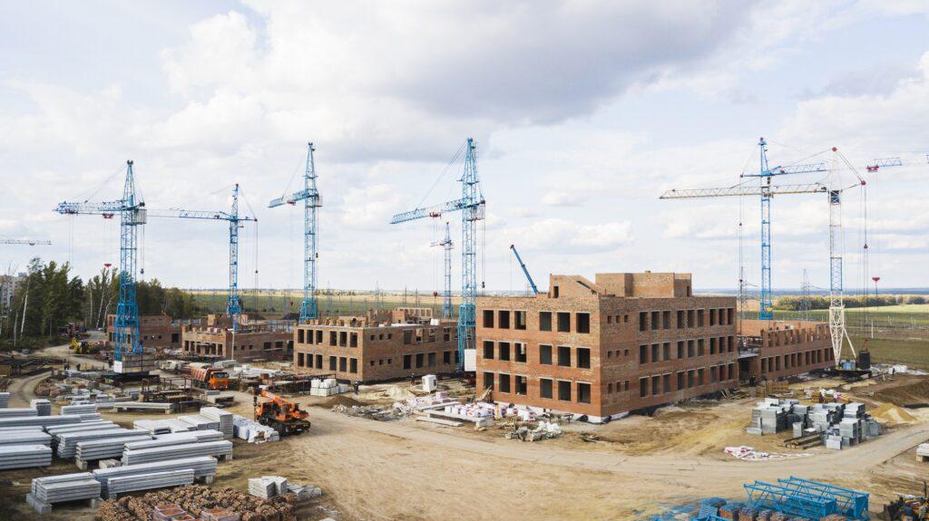 Строительство школы Сколково-2